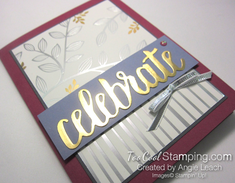 Celebrate springtime foils - berry 2