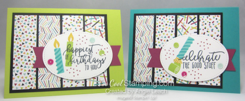Picture Perfect Confetti Birthday - two cool