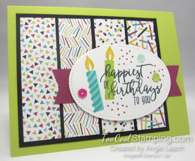 Picture Perfect Confetti Birthday - lime