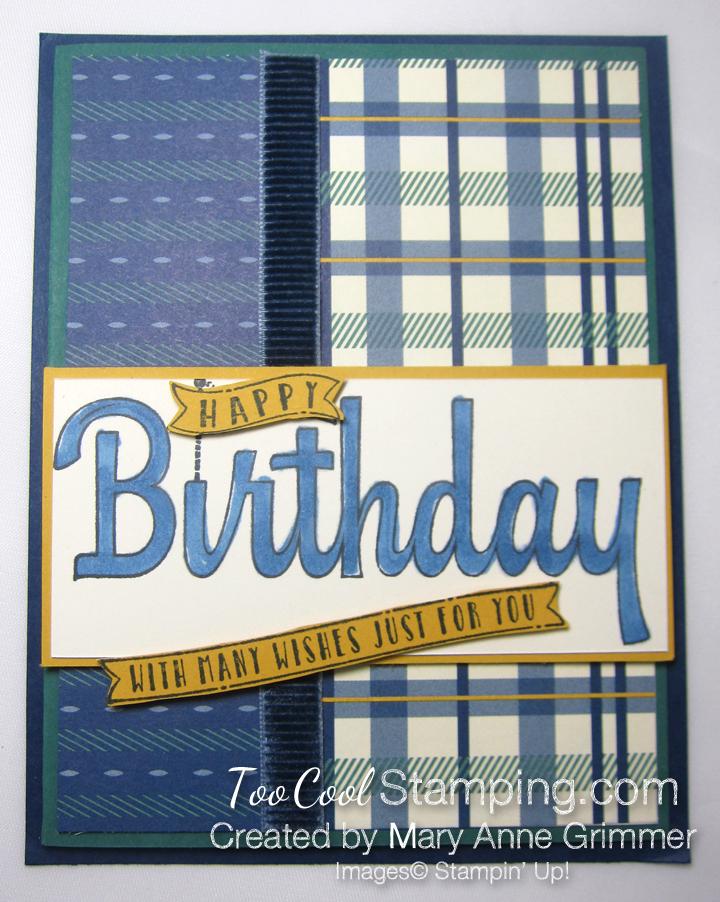 Happiest of Birthdays True Gentleman - Grimmer