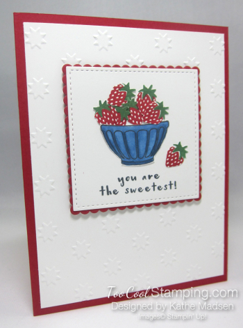 Fruit Basket Sweet Strawberries - Kathe