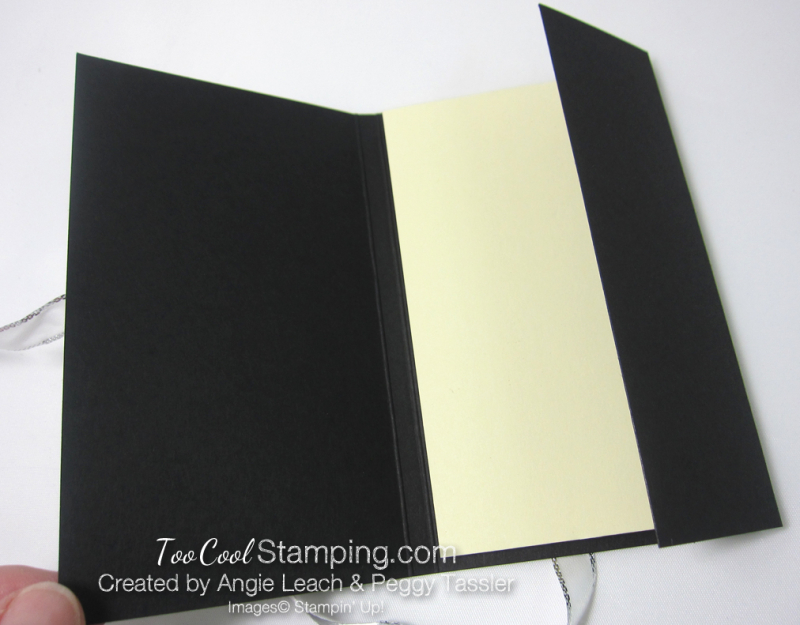 Petal Passion Monogram Note Holder - pad inside
