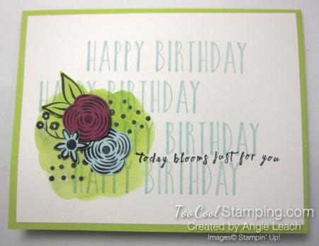 Perennial birthday happy birthday 1