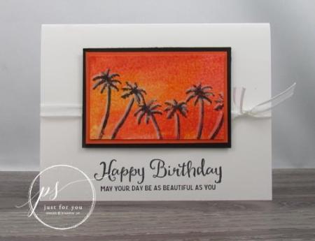 Waterfront sunset palms - jenn tinline