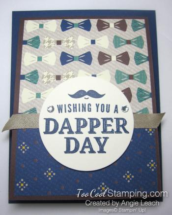 Dapper blue rhinestones