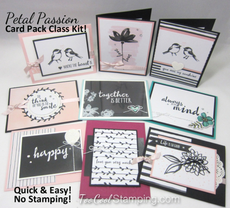 Petal Passion Card Class Ad