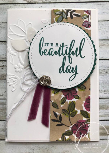 Share What You Love Beautiful Day White Accents