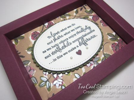 Statement of my heart - razzleberry 2
