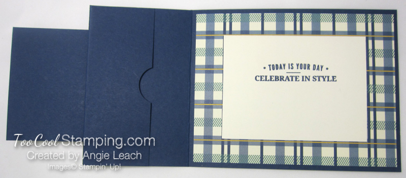 Truly tailored dapper gc holder - navy 5
