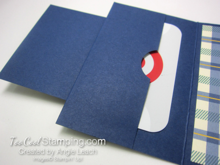 Truly tailored dapper gc holder - navy 4