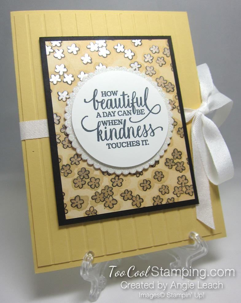 Share What You Love Envelope Card - saffron