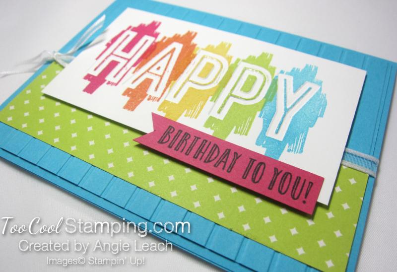 Happy Celebrations - turquoise 2