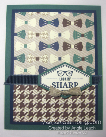 Sharp houndstooth bow 1