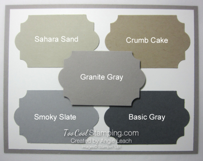 New - granite gray
