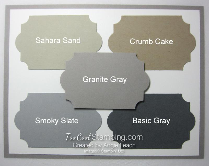 New - granite gray