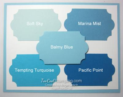 New - balmy blue