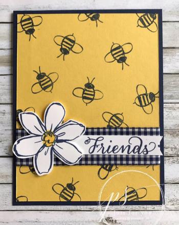 Garden in bloom bee friends