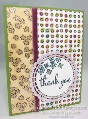 Share What You Love DSP panels - olive thank you