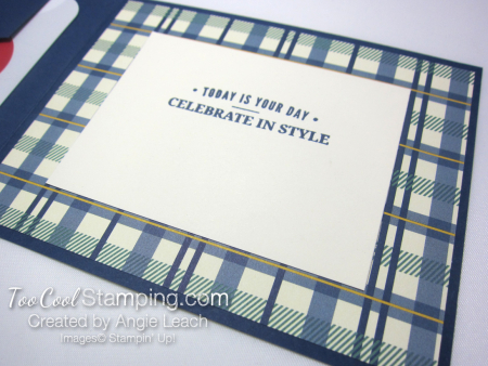 Truly tailored dapper gc holder - navy 3