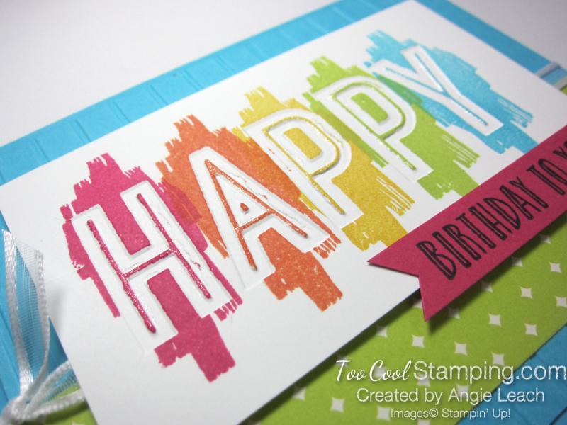 Happy Celebrations - turquoise 3