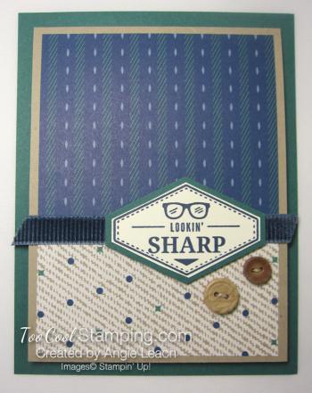 Sharp crumb button
