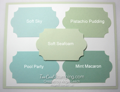 New - soft seafoam
