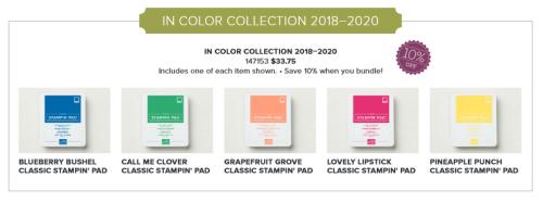 In Color Ink Pads Bundle