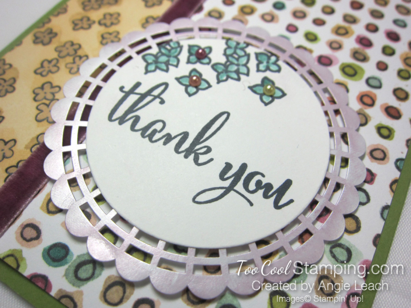 Share What You Love DSP panels - olive thank you 3