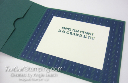 Truly tailored dapper gc holder - tranquil 3