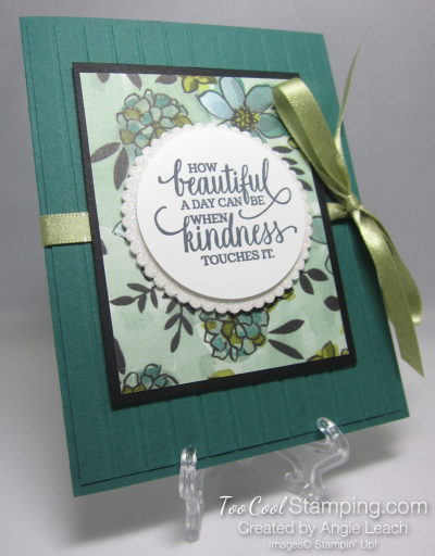 Share What You Love Envelope Card - tranquil