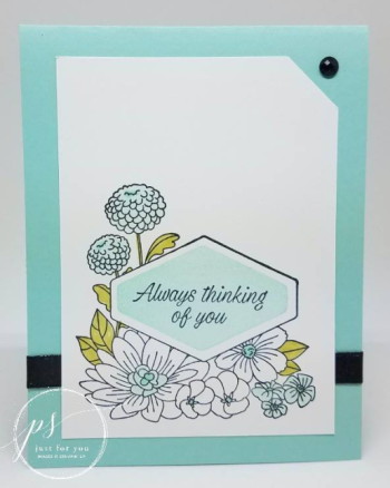 Accented Blooms Clean & Simple