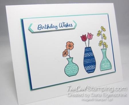 Varied Vases Birthday Trio - Darla