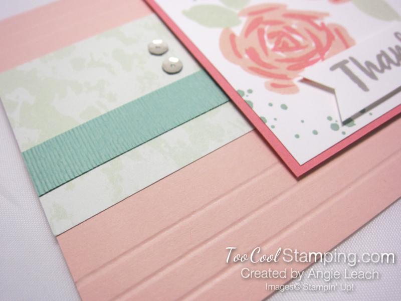 Abstract impressions petal pink sea foam 4