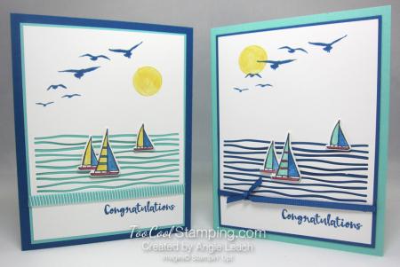 Lilypad lake sailboats - two cool
