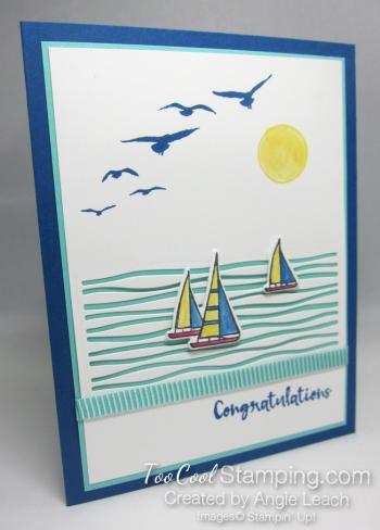 Lilypad lake sailboats - daffodil