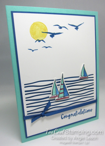 Lilypad lake sailboats - coastal