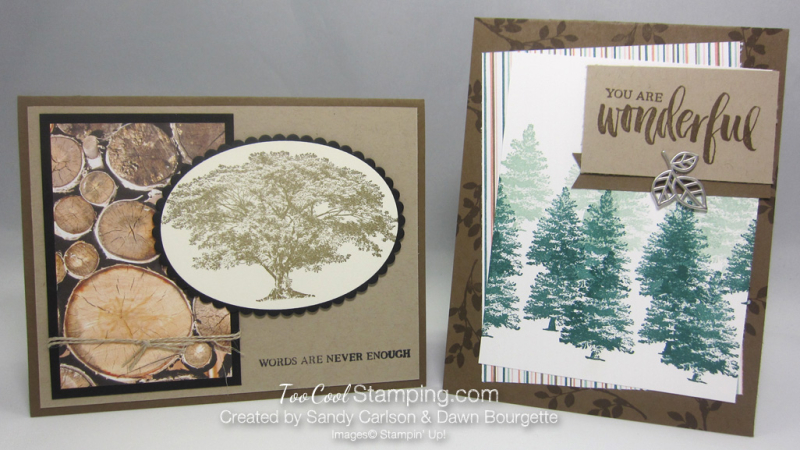 Rooted in nature trees - two cool swaps
