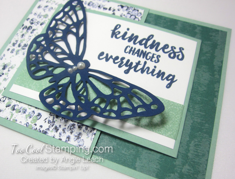 Springtime Impressions Joy Fold Cards 2 - tranquil textures