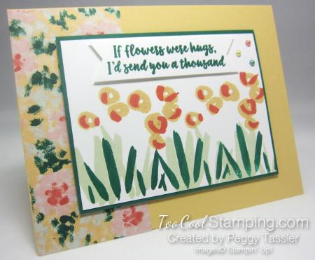 Garden Impressions hugs flowers h - saffron