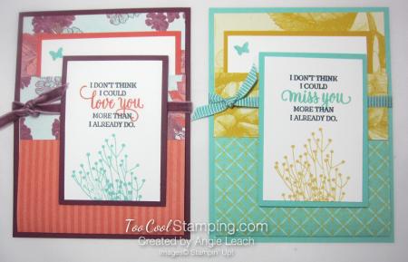 Tea Room Pocket Fold Cards - two cool