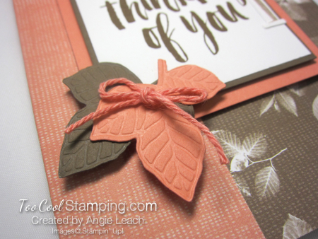 Natures poem fun fold card - suede 3