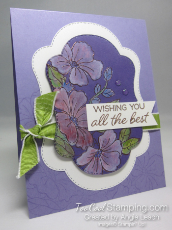 Blended Seasons White Wash Watercolor - heather