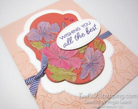 Blended Seasons White Wash Watercolor - petal pink 2