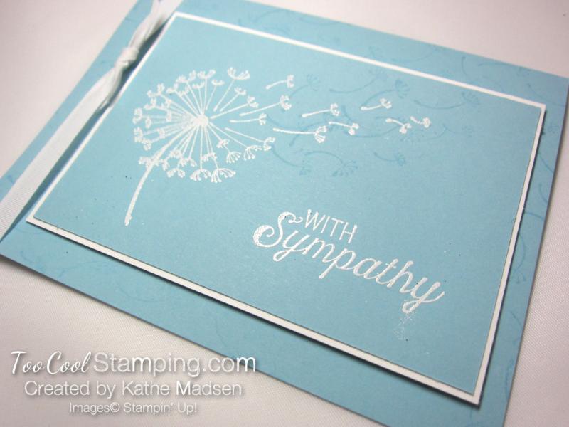 Dandelion Wishes Sympathy - Kathe