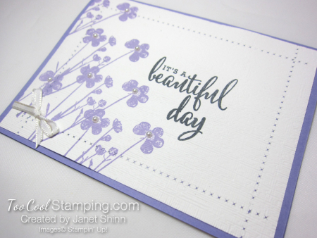 Pressed flowers linen - janet