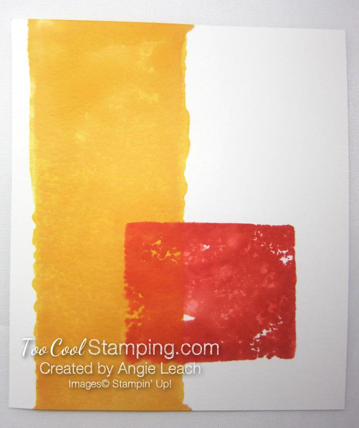Color block stamping - errors