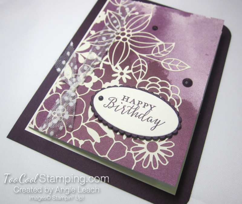 Delightfully detailed note card cards - blackberry 2