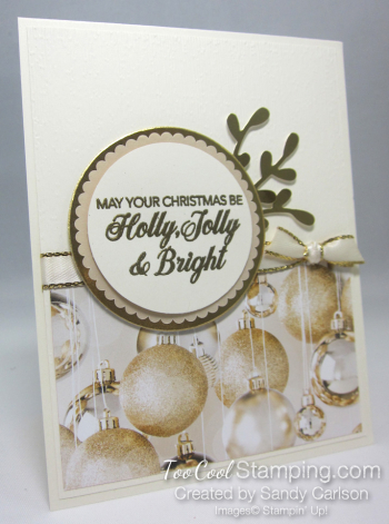 All Is Bright Peaceful Noel - carlson