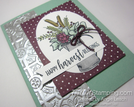Country Home harvest blessings - mint 2