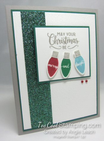 Making christmas merry & bright - spruce 1